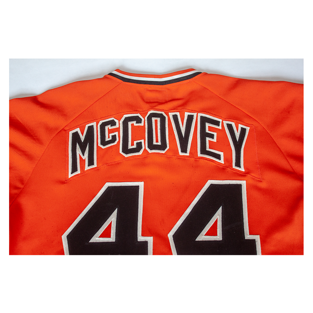 Willie McCovey - 1978 Orange Giants Game-Used Jersey
