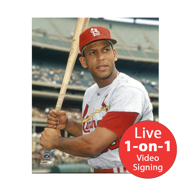"Orlando Cepeda LIVE Video Signing 8""x10"" Cardinals Photo"
