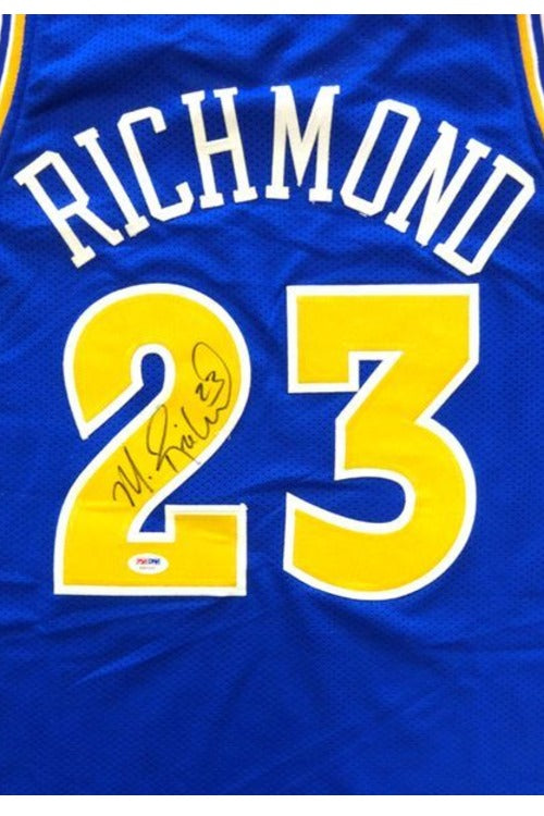 LIVE Video Signing Authentic Warriors Jersey