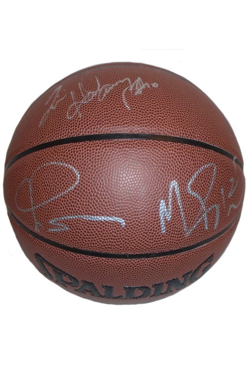 LIVE Video Signing Authentic NBA Basketball