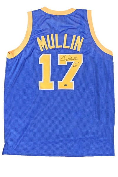 Signed Authentic Warriors Jersey