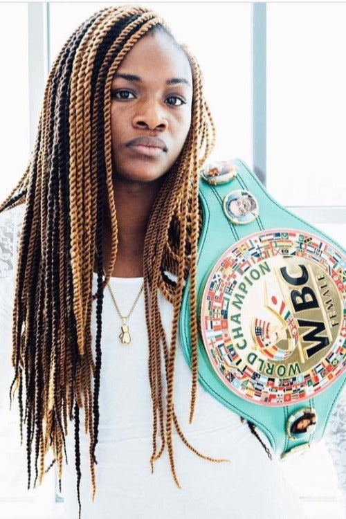 Up Close and personal with Claressa Shields