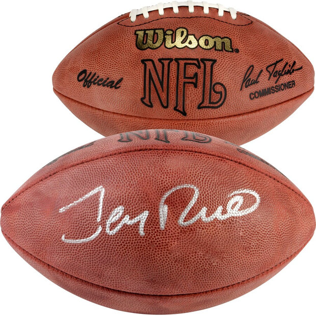 Jerry Rice LIVE Video Signing & Authentic Football