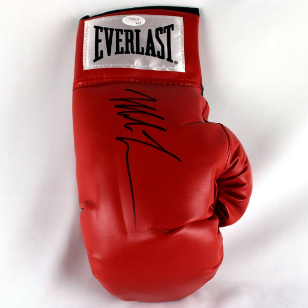LIVE Video Signing & Boxing Glove
