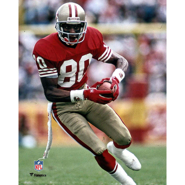 Jerry Rice LIVE Signing & 8x10 Photo