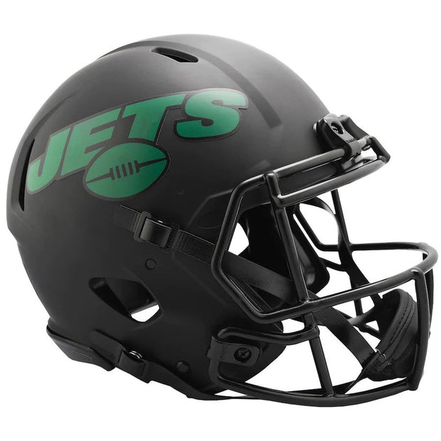 NY Jets Eclipse Helmet and LIVE Video Signing