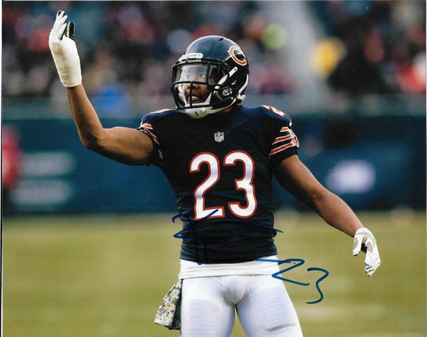 LIVE Signing & 8x10 Chicago Bears Photo