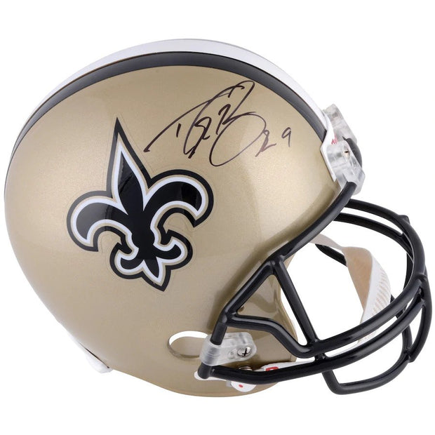 Saints Replica Helmet and LIVE Video Signing