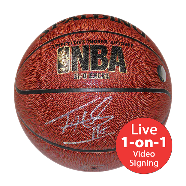 Tim Hardaway LIVE Video Signing Replica NBA Basketball