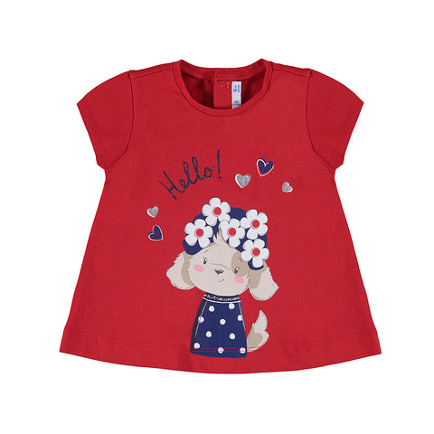 Girls T-shirt Poppy