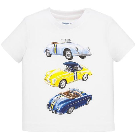 White Cars Shirt
