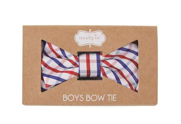 Plaid Boxed Bow Ties
