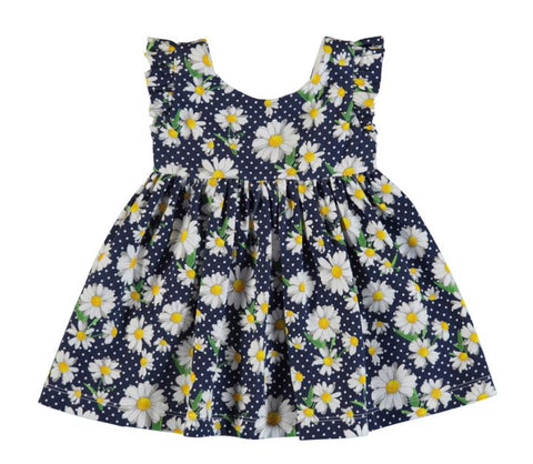 Daisy Navy Dress