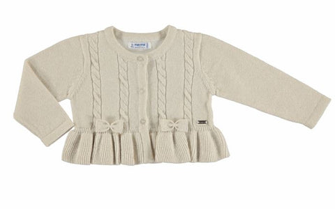 Sand Gold Knitting Cardigan