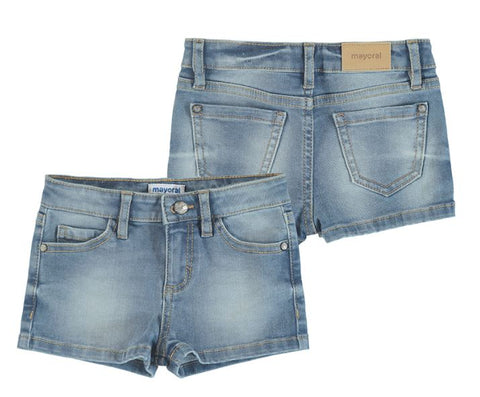 Bleached Girl Denim Shorts