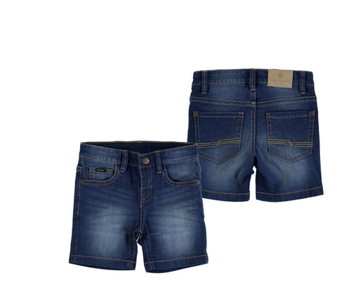 Dark 5 Pocket Denim Shorts