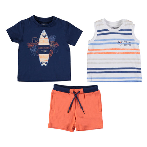 Boys 3PC Short Surf Set