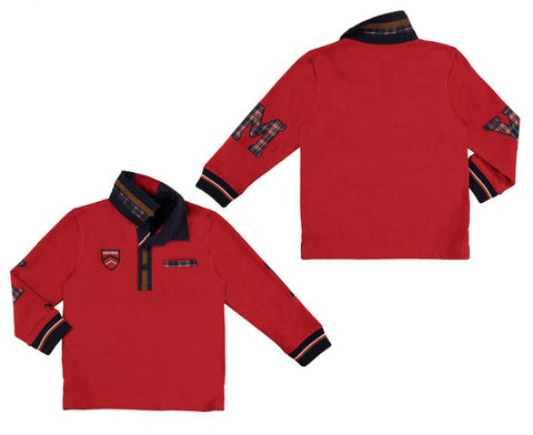 Red Mayoral Long Sleeve