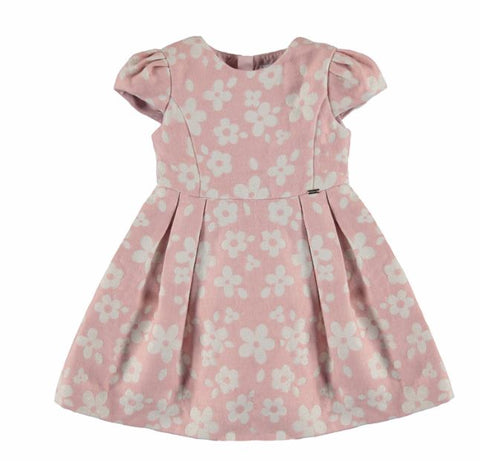 Dusty Pink Flower Dress