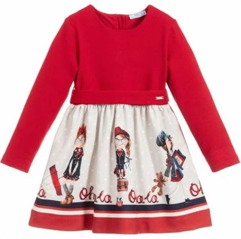 Red OhLa Dress