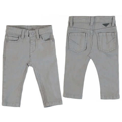 Boys 5 Pocket Slim Fit Basic Pant
