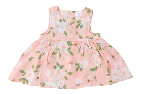 Magnolias Dress with Diaper Cover