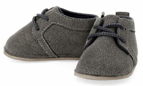 Bright Grey Desert Bootie