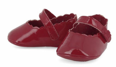 Cherry Paten Leather Mary Janes