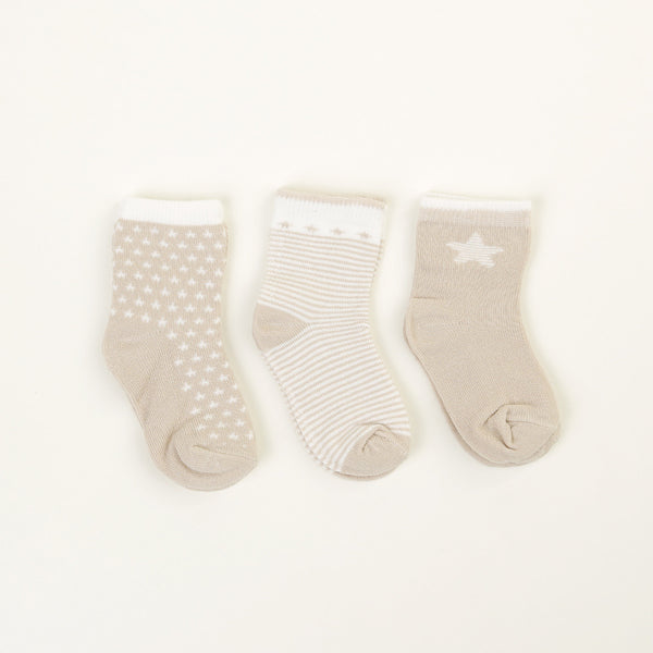 Mole Set of 3 Socks