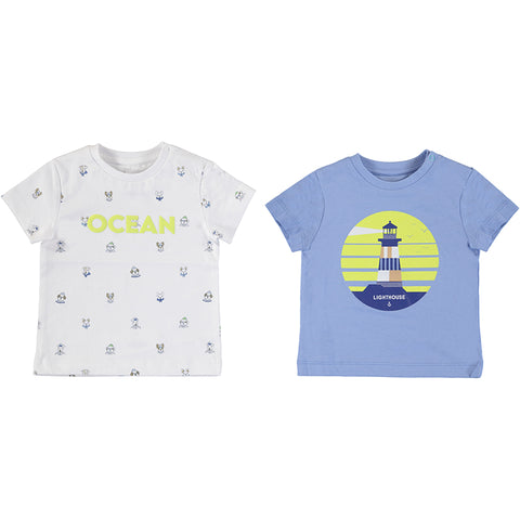 Boys 2PCs Printed T-shirt Set