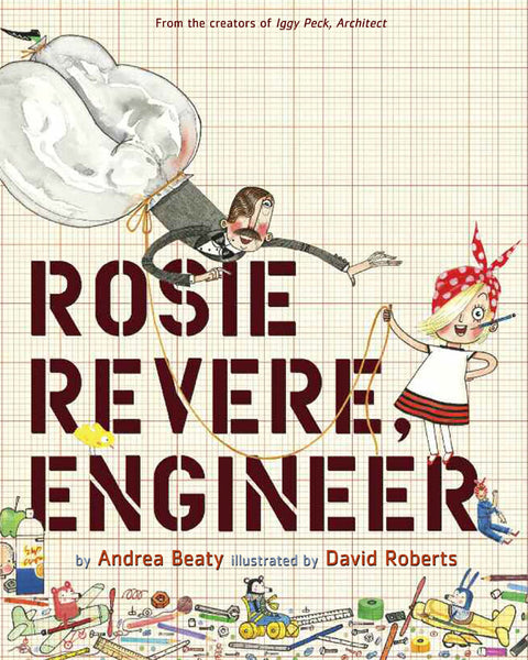 Rosie Revere Engineer Long Johns with Book