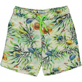 Fishes Swimsuit Shorts