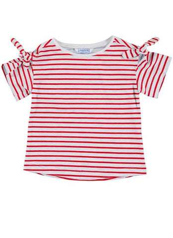 Girls Poppy Stripped Shirt