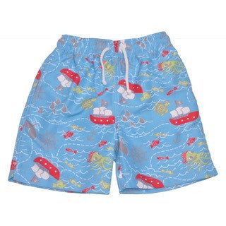 Pirate Swim Trunk