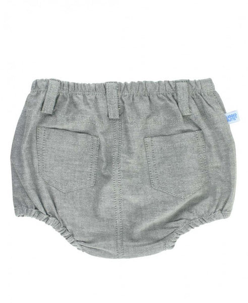 Gray Chambray Bloomer