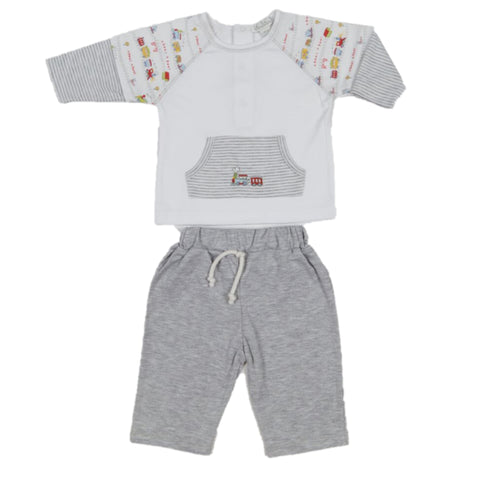 Red Caboose Pants Set