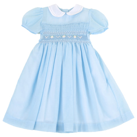 Daisy Blue Girls Dress