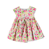 Girls Camellia Flower Dress