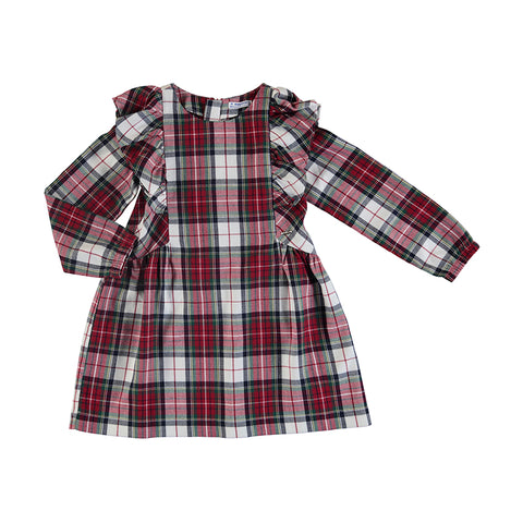 Girls toddler Plaid Dress