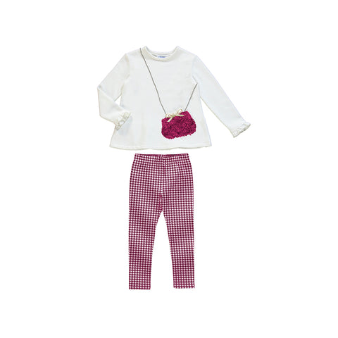 Girls Cherry Legging Set