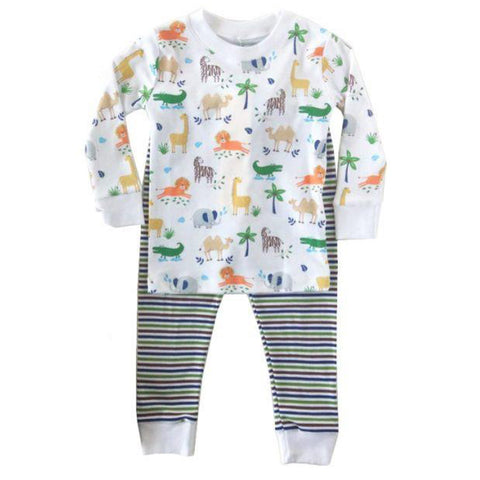 Jungle Jaunt Pajamas