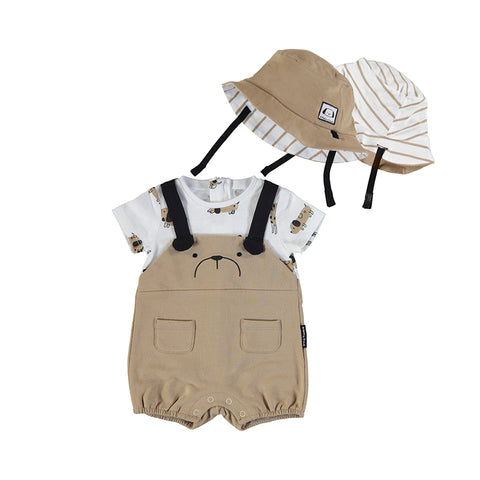 Boys Knit Overall Hat