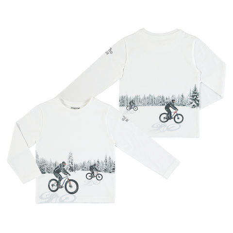Long sleeve Reflective T Shirt