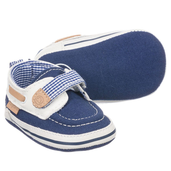 Navy Deck Shoes