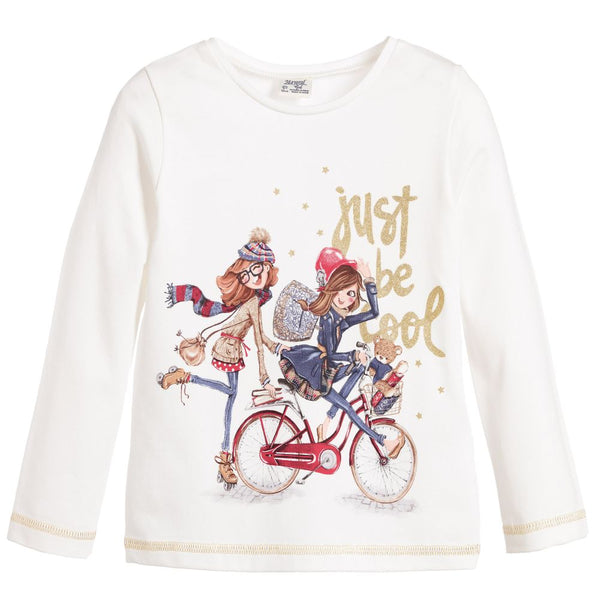 L/s Bicycle Girls T-Shirt