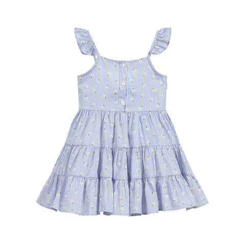 Indigo Sunflower Dress