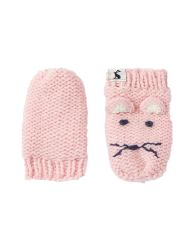 Pink Mouse Mittens