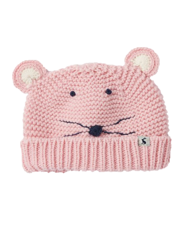 Pink Mouse Hat