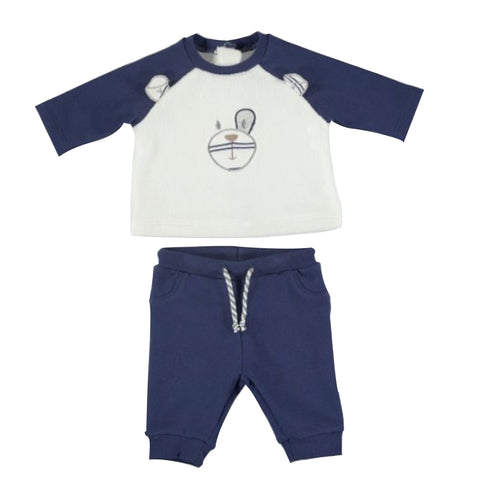 Navy Mayoral Bear Tracksuit