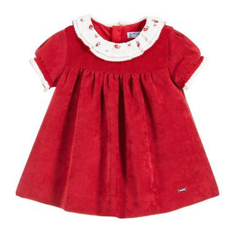 Red Cords Dress